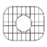 Sink Grid for Undermount Octagon Single Bowl Kitchen Sink
