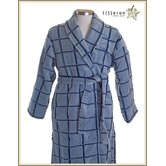 Windowpane Luxury Turkish Organic Bathrobe