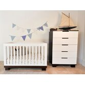DO NOT SET LIVE!Modo 3-in-1 Convertible Crib in White / Espresso