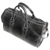 "Milano 20"" Leather Travel Duffel"