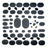 Basalt Lava High Polish Hot Stone Massage Kit (Set of 60)