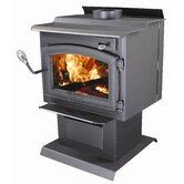 Shiloh Wood Stove with Blower and Ash Drawer
