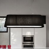 Tessuti Oval 5 Light Large Pendant