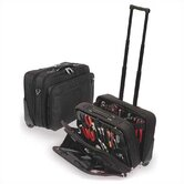 W600 Black Wheeled Tool and Laptop Zipper Case: 9&quot; H x 18&quot; W x 13&quot; D