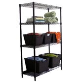 4-Tier NSF Indoor Wire Shelving Rack