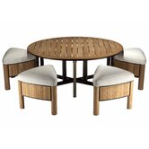 Bronzewood Low Tapas Dining Set