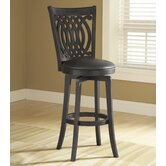 Van Draus 24&quot; Swivel Counter Stool