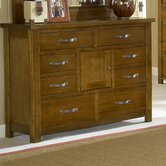 Outback 8 Drawer Combo Dresser