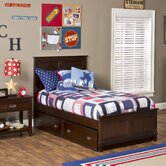 Nantucket Panel Bed with Trundle/Storage Drawer