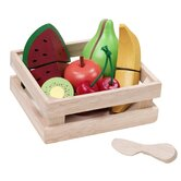 Fruity Basket Play Food Set