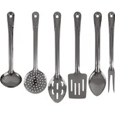 Stainless Utensil Set 6 Piece