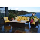 Bellamar 6 Piece Deep Seating Group with Cushion