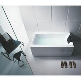 "Eden 71"" Bathtub with Three Panels"