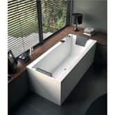 "Eden 71"" Corner Bathtub with Two Panels"