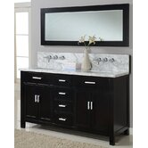 "Hutton 63"" Double Bathroom Vanity"