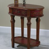 Crimson End Table