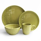Crochet 16 Piece Dinnerware Set
