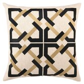 Geometric Tile Linen Pillow