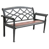 Heirloom Cast Aluminum Park Bench