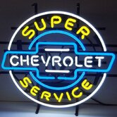 GM Chevrolet Service Neon Sign