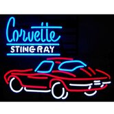 GM Corvette Stingray Neon Sign