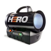 35,000 BTU Hero Forced Air Propane Heater
