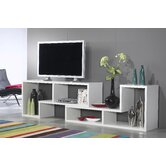 Stewart Office Bookcase in White