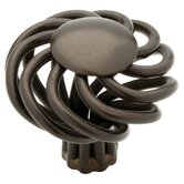 Birdcage Knob in Rubbed Bronze II