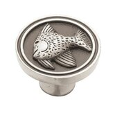 Seaside Cottage Angel Fish Knob