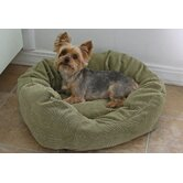 Towne Square Dog Bed in Microfiber