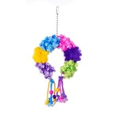 Calypso Creations Colorful Clusters Large Bird Toy
