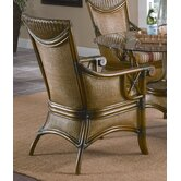 Pacifica Wicker Dining Arm Chair