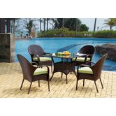 Bahia 5 Piece Dining Set