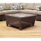 Del Ray Square Wicker Coffee Table