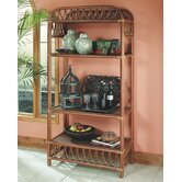 South Sea Rattan Bookcases