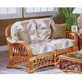 South Sea Rattan Loveseats