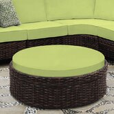 South Sea Rattan Outdoor Ottomans