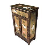 Gold Leaf Cabinet