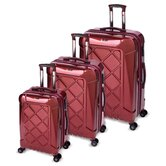 M-Tech4 3 Piece Spinner Luggage Set