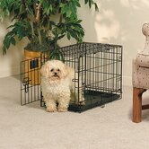 Life Stages Fold &amp; Carry Single-Door Dog Crate