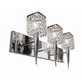 Glam 3 Light Wall Sconce