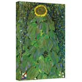 Gustav Klimt ''The Sunflower'' Canvas Art
