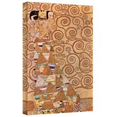 Gustav Klimt ''Anticipation'' Canvas Art