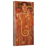 Gustav Klimt ''Hygieia'' Canvas Art
