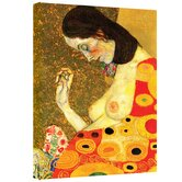 Gustav Klimt ''Hope II'' Canvas Art
