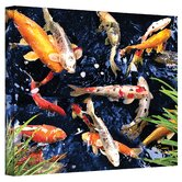 George Zucconi ''Koi'' Canvas Art