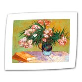 Vincent Van Gogh &quot;Oleander&quot; Canvas Wall Art