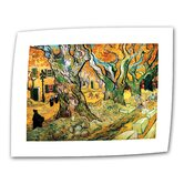 Vincent van Gogh &quot;The Road Menders&quot; Canvas Wall Art