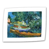 Vincent van Gogh &quot;Bank of the Oise at Auvers&quot; Canvas Wall Art