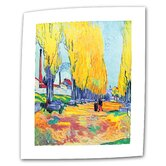 Vincent van Gogh &quot;Les Alyscamps&quot; Canvas Wall Art